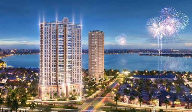 D'. El Dorado II – Dự án cao tầng hiếm hoi bên Hồ Tây được cấp phép xây dựng trong thời gian gần đây