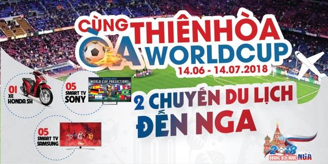 Cùng Thiên Hoà Oà Worldcup