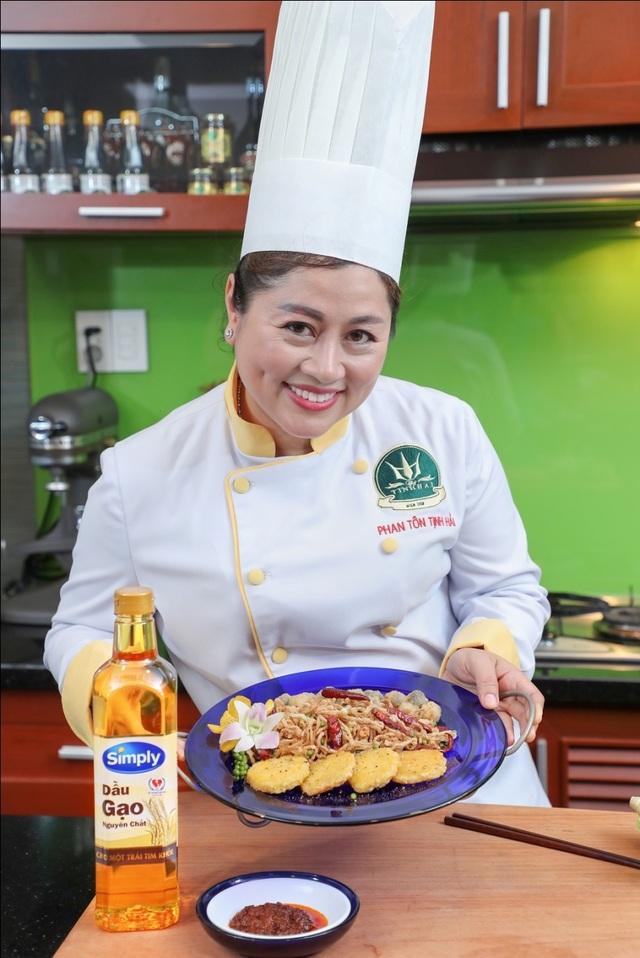 Chuyên gia ẩm thực – đầu bếp cung đình Tịnh Hải chia sẻ bí quyết nấu ăn