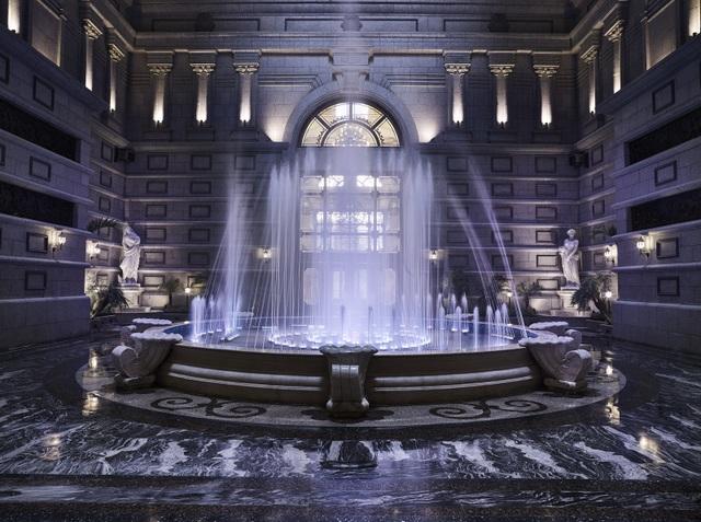 Tuyệt tác giếng trời – tâm điểm của D'. Palais Louis