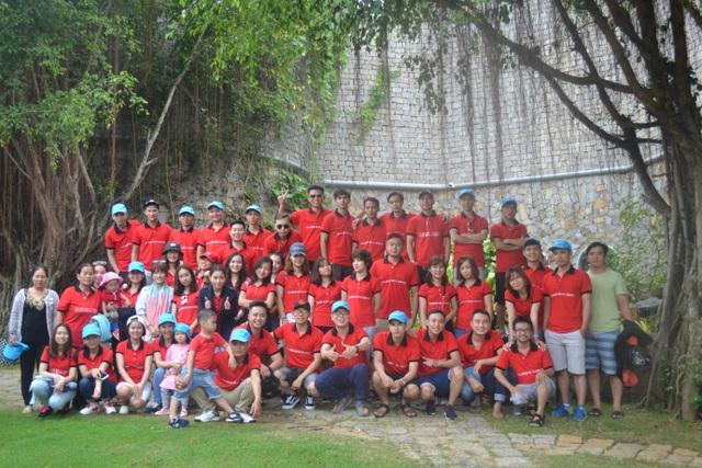 Nhân sự Office Saigon trong chuyến du lịch đầu năm