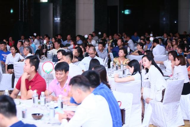 Sự kiện thu hút đông đảo nhà đầu tư và các khách hàng tiềm năng đến tham gia.