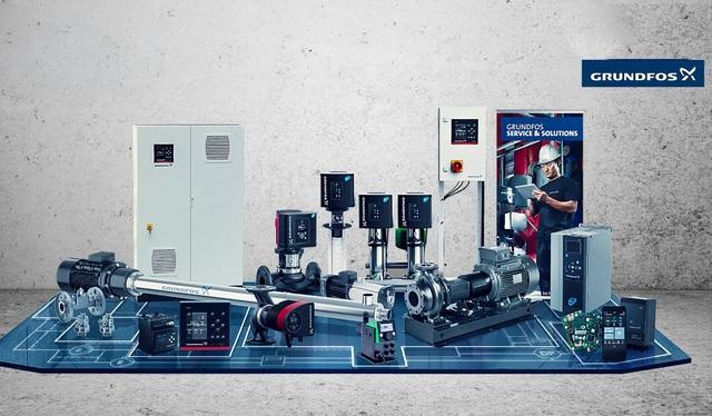 Thương hiệu máy bơm hàng đầu thế giới - Grundfos