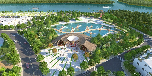 Sở hữu lợi thế nằm bên bờ sông Cần Giuộc, với 60% diện tích cây xanh và hệ thống tiện ích, Saigon Riverpark mang đến một không gian sống trong lành và bình yên giữa thiên nhiên sông nước