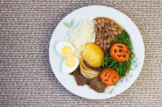 """Công thức """"Đĩa dinh dưỡng"""" dễ nhớ đem đến bữa ăn lành mạnh hơn."""