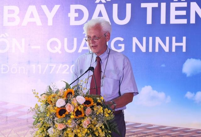 Ông Arjan Kuin- cố vấn cấp cao của NACO