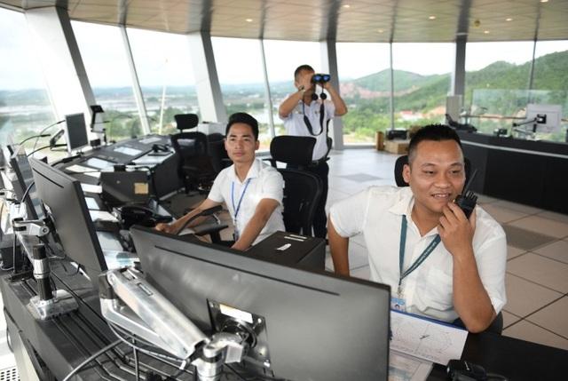 Đài kiểm soát không lưu - Cảng hàng không Quốc tế Vân Đồn