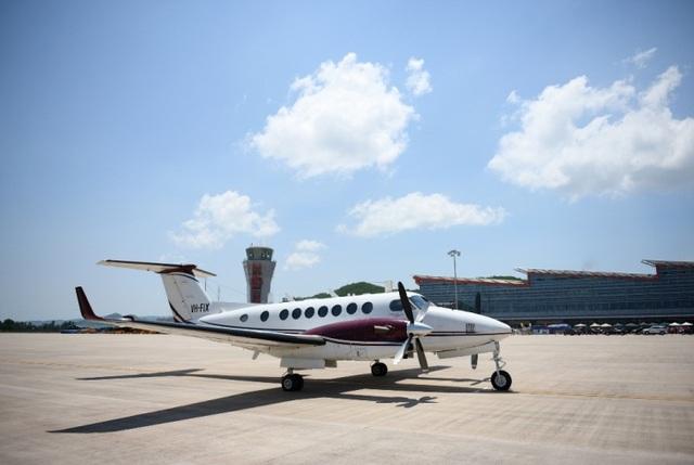 Chuyến bay đầu tiên hạ cánh xuống cảng hàng không quốc tế Vân Đồn ngày 11.7