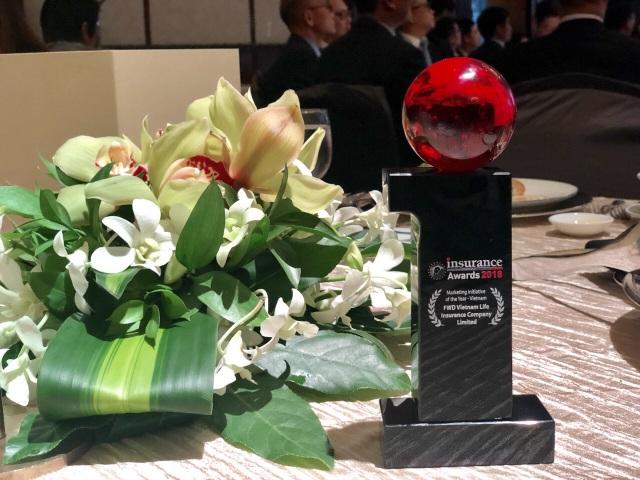 FWD là doanh nghiệp đầu tiên tại thị trường Việt Nam đạt giải thưởng Marketing Initiative of the Year.