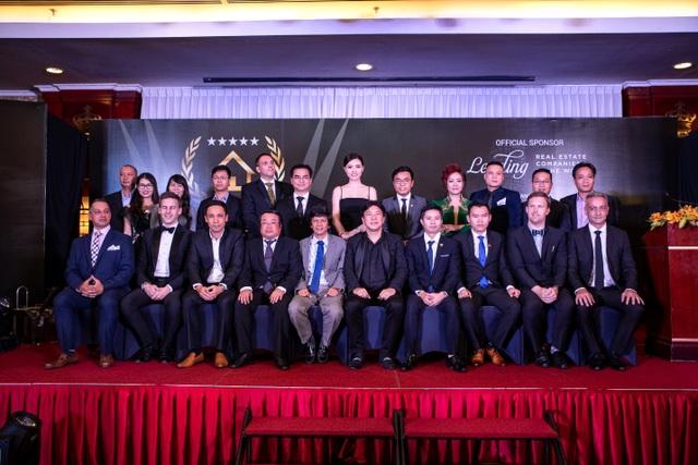 Lễ trao giải thưởng Dot Property Vietnam Awards 2018 được tổ chức trang trọng tại khách sạn Rex Hotel