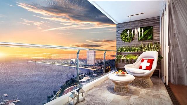 Swisstouches La Luna Resort Nha Trang đang đưa ra chính sách bán hàng dựa vào tỷ giá USD để trả lợi nhuận, đảm bảo đồng tiền đầu tư không trượt giá