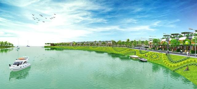 Với quy mô 37ha (gần 1.800 nền nhà phố và biệt thự vườn), SaiGon Village gây sốt thị trường đất nền khu vực phía Nam Sài Gòn trong đợt công bố vừa qua.