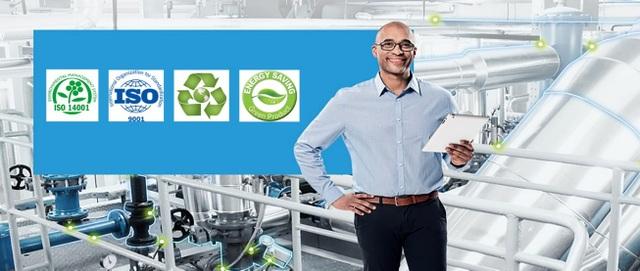Các sản phẩm của Grundfos đạt tiêu chuẩn chất lượng, thân thiện với môi trường