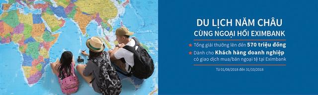 Du lịch năm châu cùng ngoại hối Eximbank - 2