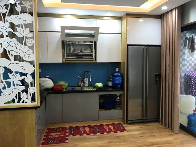 Căn bếp 1 hộ dân tự thiết kế tại tòa HH01 -B