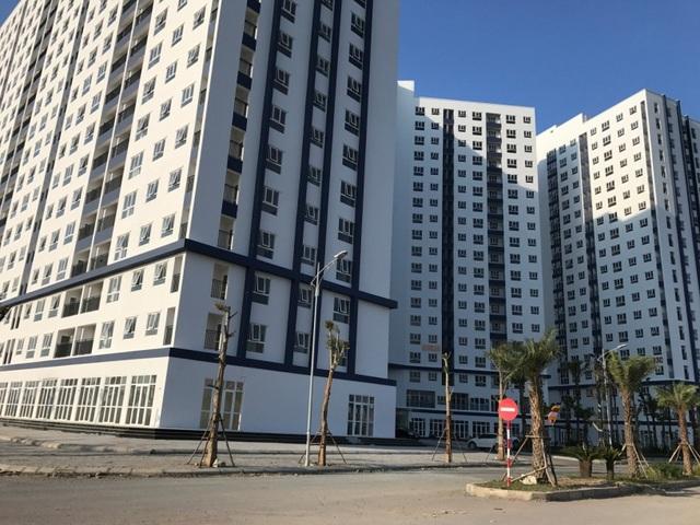 Tòa nhà HH03- B3.1 hoàn thành và ban giao cho người dân chỉ sau 1 năm