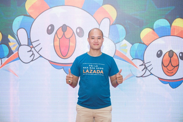 Anh Nguyễn Trung Kiên, từ một nhân viên IT đến vai trò Lãnh đạo Câu lạc bộ Nhà bán hàng Lazada tại Hà Nội