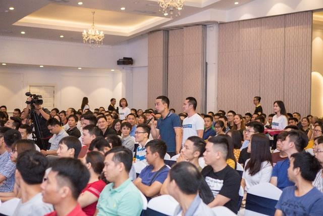 Các thành viên của Lazada Club trong ra mắt Câu Lạc Bộ tại Hà Nội tháng 7 vừa qua.