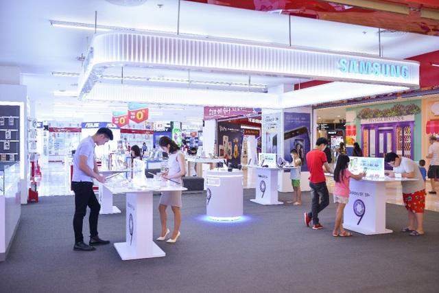Các fan Samsung đã có thể đến ngay VinPro để được hưởng ưu đãi siêu hot này