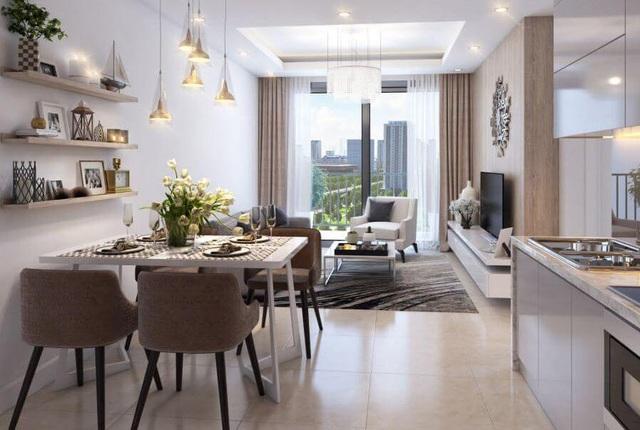 Mẫu căn hộ SOHO tại D' Capitale Trần Duy Hưng