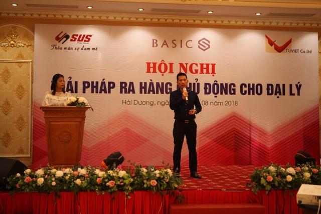 Ông Hà Văn Chung – Giám đốc đơn vị uỷ quyền của tập đoàn Basics tại Việt Nam