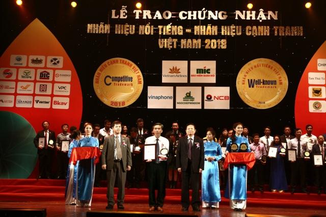 VNPT Technology vinh dự nhận giải thưởng Nhãn hiệu nổi tiếng – Nhãn hiệu cạnh tranh 2018 - 1