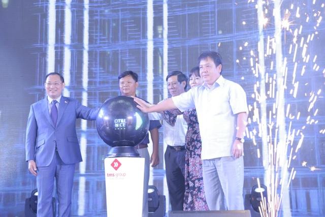 Ấn tượng với nghi thức ra mắt mở bán dự án TMS Luxury Hotel & Residence Quy Nhon