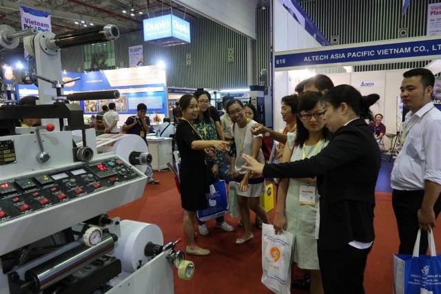 Rất nhiều thông tin hữu ích trong ngành bao bì được cung cấp tại sự kiện Print Pack Foodtech