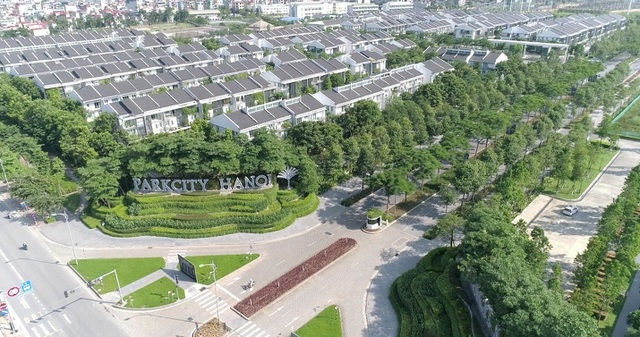 ParkCity Hanoi luôn chú trọng thiết kế cảnh quan và không gian xanh