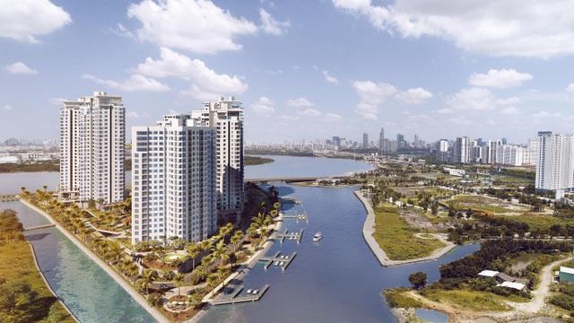 """Canary tọa lạc tại vị trí """"mũi kim cương"""" đắc địa giúp 100% các căn hộ đều có view sông"""