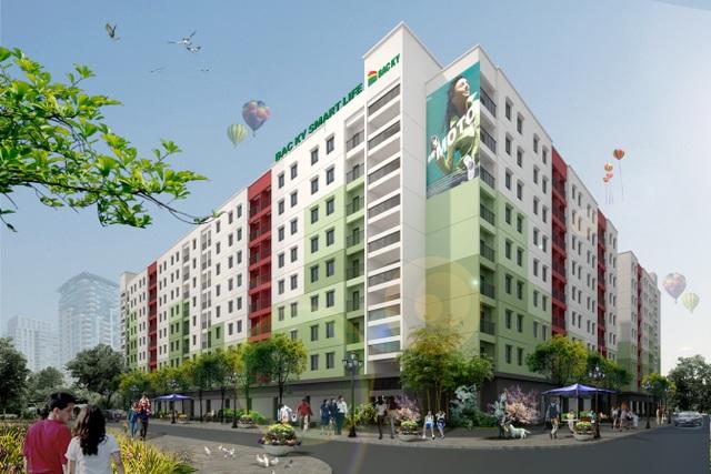Dự án Nhà ở xã hội Bắc kỳ là dự án đầu tiên trên địa bàn huyện Yên Phong – Bắc Ninh