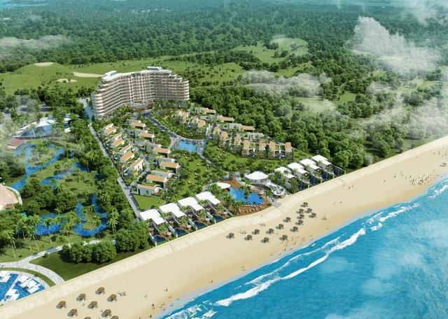 """Ramada By Wyndham Hồ Tràm Strip đang là """"vùng đất vàng"""" để kinh doanh BĐS nghỉ dưỡng khi sở hữu 2km bờ biển riêng, thuộc một trong những vùng biển đẹp nhất Việt Nam."""