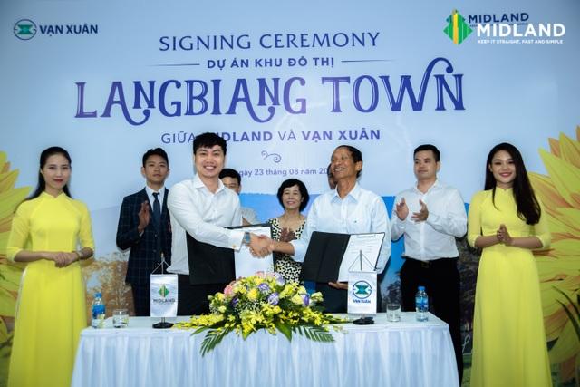 """Midland """"bắt tay"""" với Vạn Xuân trở thành nhà phân phối dự án KĐT Langbiang Town."""