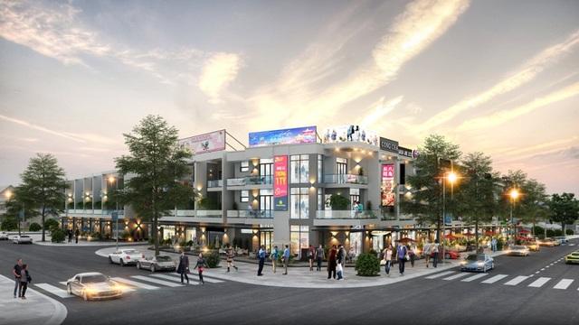 Phối cảnh góc đường Nguyễn Bảo Đức và đường D8, đường N3B – dự án Sunshine Residence.