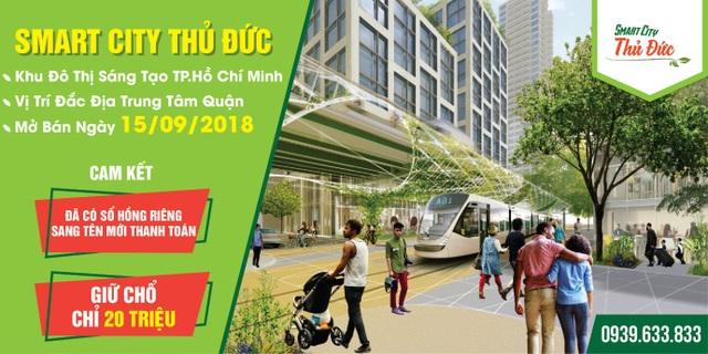 Với những lợi thế của mình, Smart City hứa hẹn phát triển thành khu đô thị cao cấp tại Thủ Đức