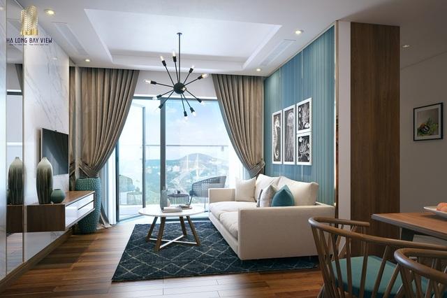 Căn hộ bàn giao full nội thất tiêu chuẩn khách sạn 5 sao