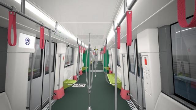 Hà Nội khảo sát ý kiến người dân về thiết kế đoàn tàu metro tuyến số 3, đoạn Nhổn - ga Hà Nội - 3
