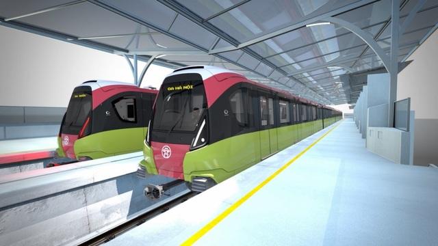 Hà Nội khảo sát ý kiến người dân về thiết kế đoàn tàu metro tuyến số 3, đoạn Nhổn - ga Hà Nội - 8