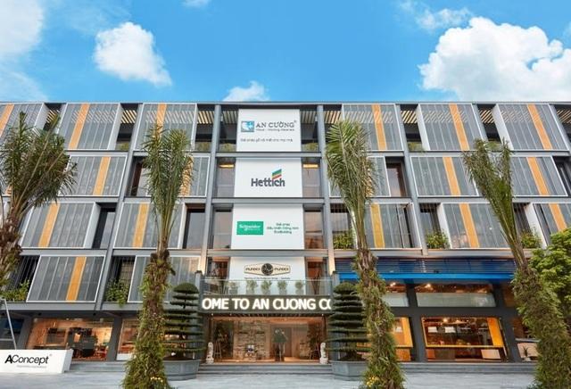 """Showroom An Cường """"One-Stop Shopping Center"""" rộng 3.500 m2 tại Hà Nội"""
