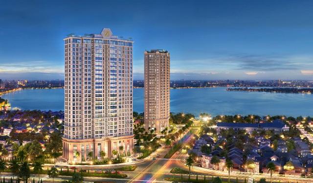 Dự án D. El Dorado bao gồm 2 tòa tháp căn hộ - D. El Dorado I và D. El Dorado II, tọa lạc trên những tuyến đường hiện đại của nội đô thành phố Hà Nội, hướng tầm nhìn ra hơn 500 ha diện tích mặt nước hồ Tây