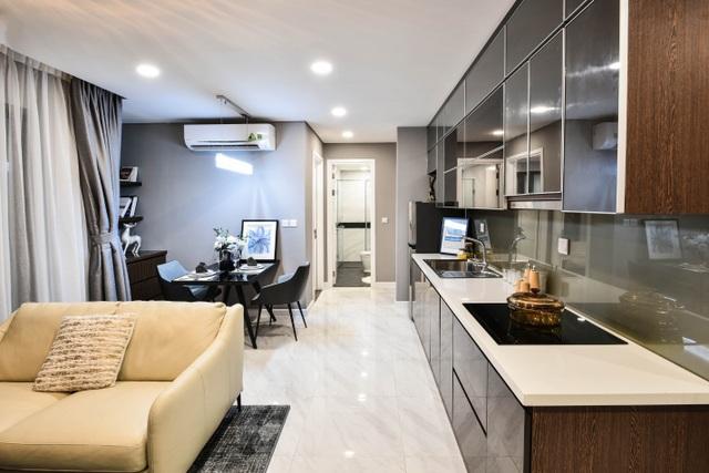 Nhờ thiết kế tối ưu, tiết kiệm diện tích, các căn hộ tại D'. El Dorado có mức giá phù hợp với số đông khách hàng.