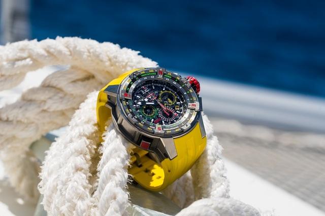 RM 60-01 Regatta Flyback Chronograph và giấc mơ chinh phục đại dương của Richard Mille.