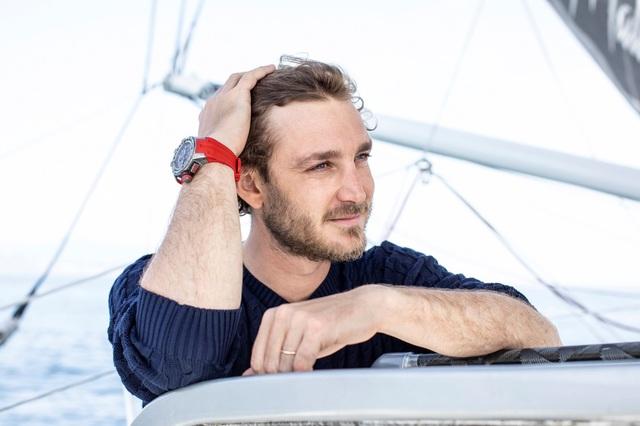Pierre Casiraghi là hình mẫu tuyệt vời, thể hiện rõ nét những phẩm chất của chiếc RM60-01 Regatta.