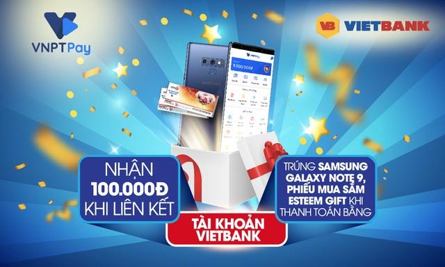 """""""Mưa quà tặng"""" từ Vietbank -VNPT Pay - 1"""