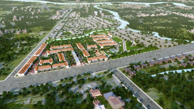Long Hậu Riverside - Khu đô thị ven sông