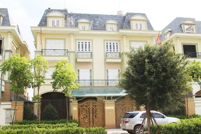 Biệt thự An Khang sở hữu lợi thế cảnh quan xanh mát.