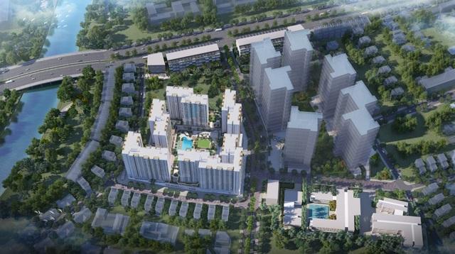 Tọa lạc trên mặt tiền Đại lộ Võ Văn Kiệt, Khu đô thị ánh sáng Akari City sở hữu một vị trí chiến lược cả về an cư lẫn giao thương.