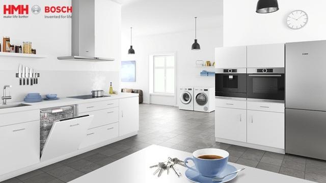 BOSCH - tạo nên căn bếp hoàn hảo, tiện ích, hợp thời và đẳng cấp