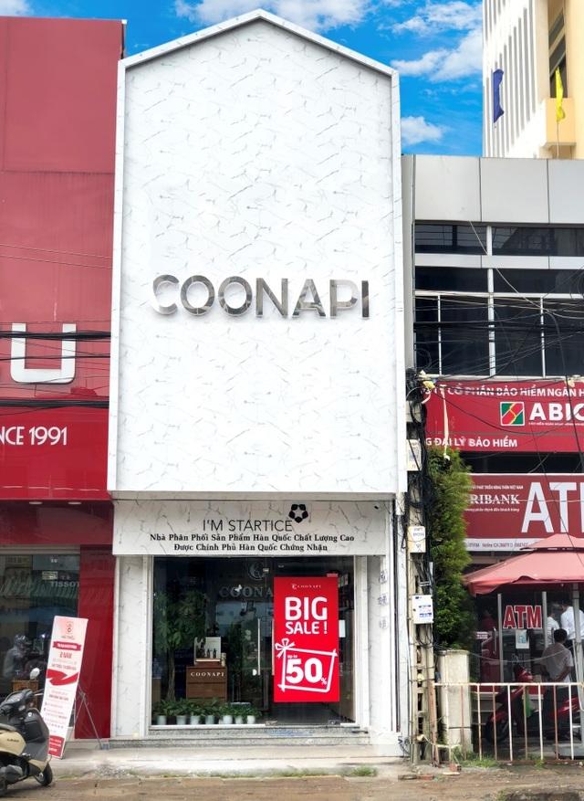 Cửa hàng mỹ phẩm đầu tiên của COONAPI hiện là nơi duy nhất được sử dụng logo I'M STARTICE chứng nhận bởi chính phủ Hàn Quốc tại Việt Nam.