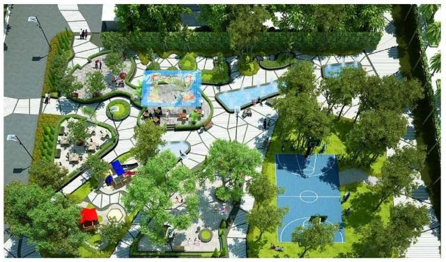 Không gian xanh là ưu tiên số 1 trong phát triển dự án Thăng Long City.
